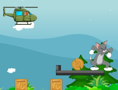 Tom ve Jerry Helikopter Oyunu Oyna